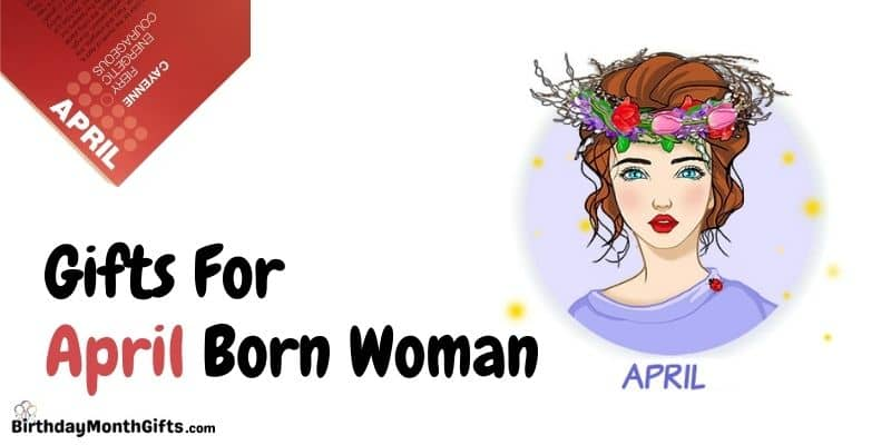 gifts for april born woman